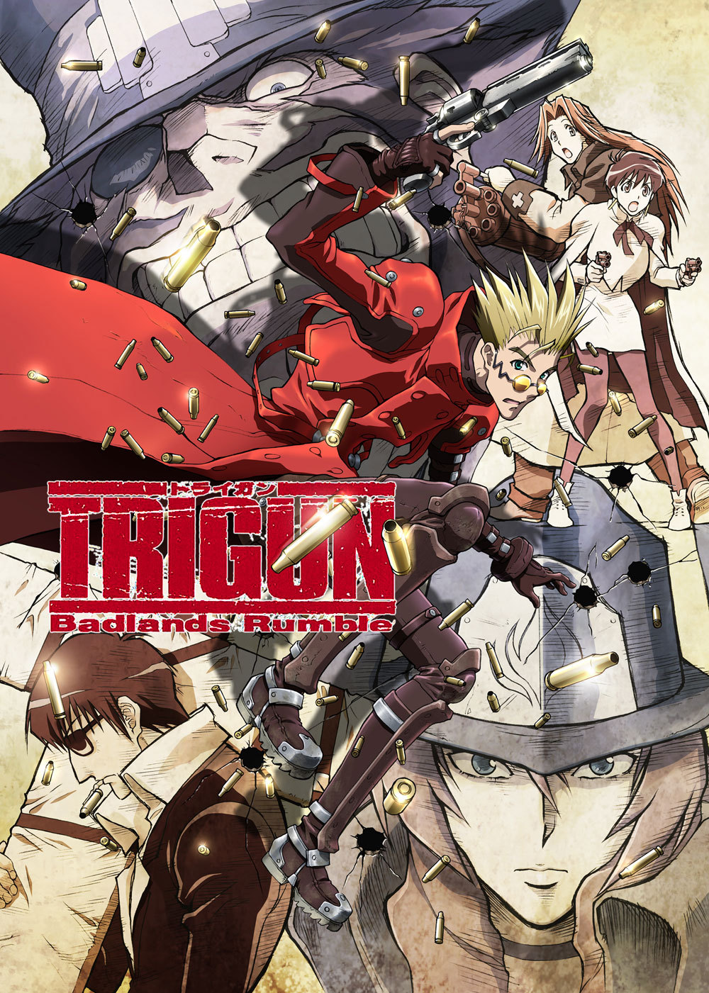 Триган - Буря в Пустыне / Trigun: Badlands Rumble (2010)