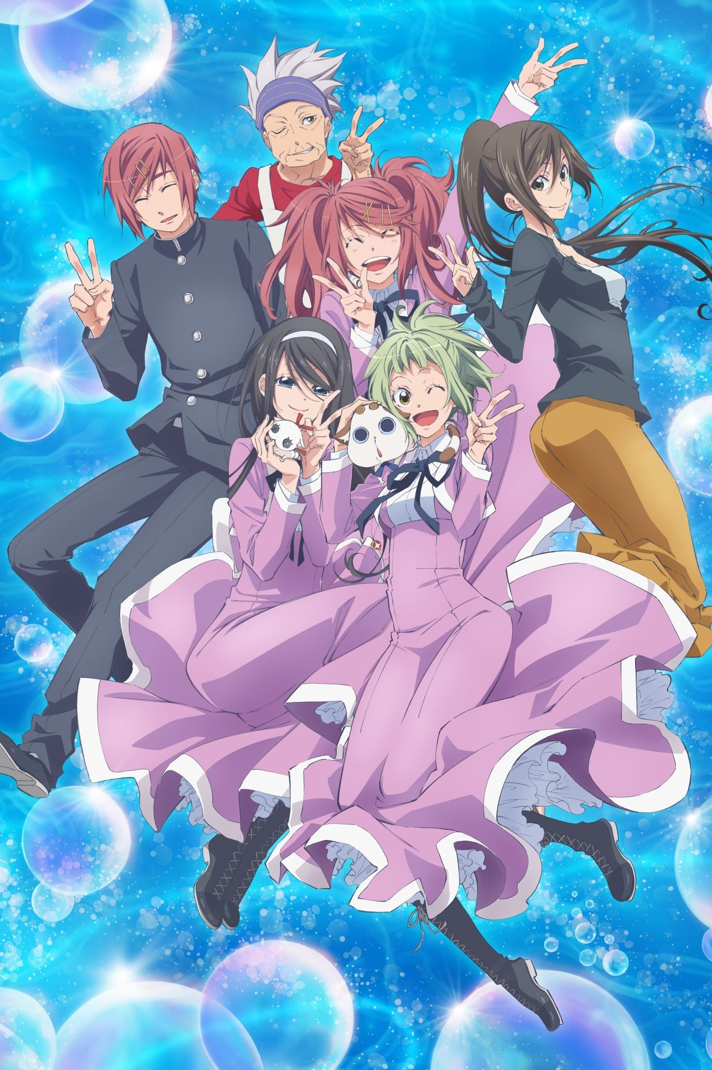 Дайверы 2 / Amanchu! Advance [Сезон 2, Серия 1-12 из 12] 2018